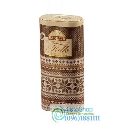 Чай черный Basilur Brown ж/б 100г