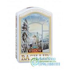 Чай зеленый Basilur Коллекция Окна Зима ж/б 100г