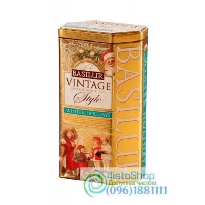 Чай черный Basilur Зимние каникулы 100г