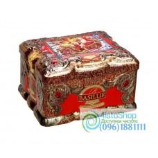 Чай черный Basilur Красный топаз ж/б 100г