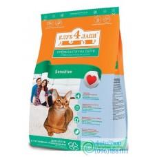 Клуб 4 лапы для котов Сенситив пищеварения 0,5кг